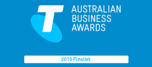 Expr3ss! finalist in the 2015 Telstra Business Awards